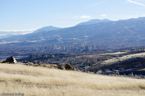 Reno skyline from the North